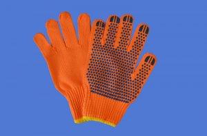 点塑线手套